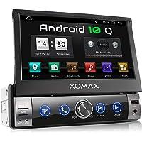 XOMAX XM-VA760 autoradio met Android 10, QuadCore, 2GB RAM, 32GB ROM, GPS-navigatie I Support: WiFi WLAN, 3G 4G, DAB…