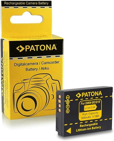 Batería para PANASONIC LUMIX DMC-FZ10EG-S FZ10GN GN