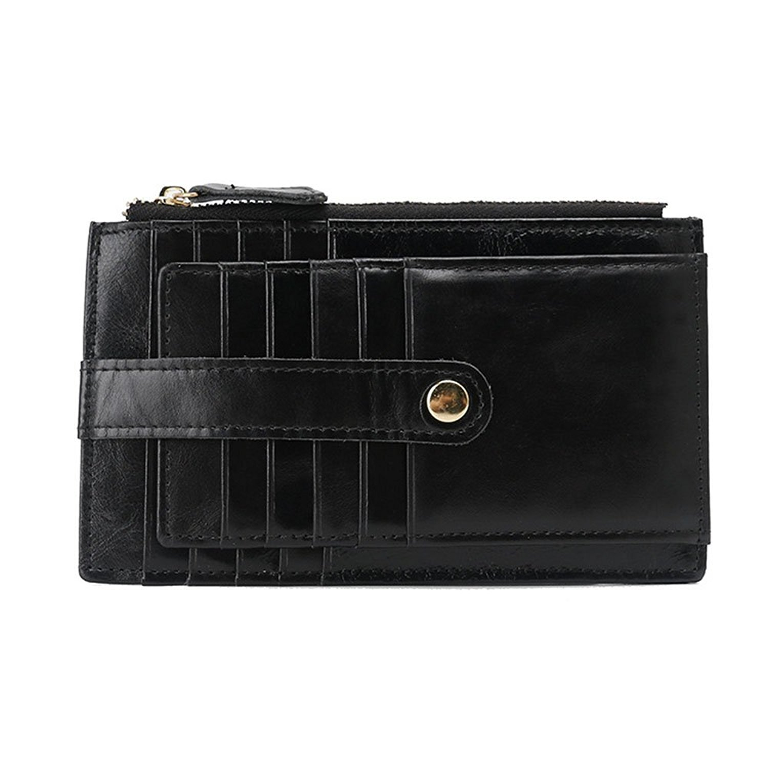 Onstro RFID Blocking Wallets for Women Genuine Leather Multi Credit Card Organizer with ID window by Onstro (Image #2)