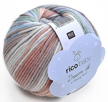Rico Baby Dream Dk Fb 010 Weiche Babywolle Mit Farbverlauf Zum