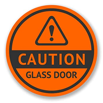 2 x 10cm warning caution glass door vinyl stickers shop sign safety 2 x 10cm warning caution glass door vinyl stickers shop sign safety patio 6523 planetlyrics Image collections