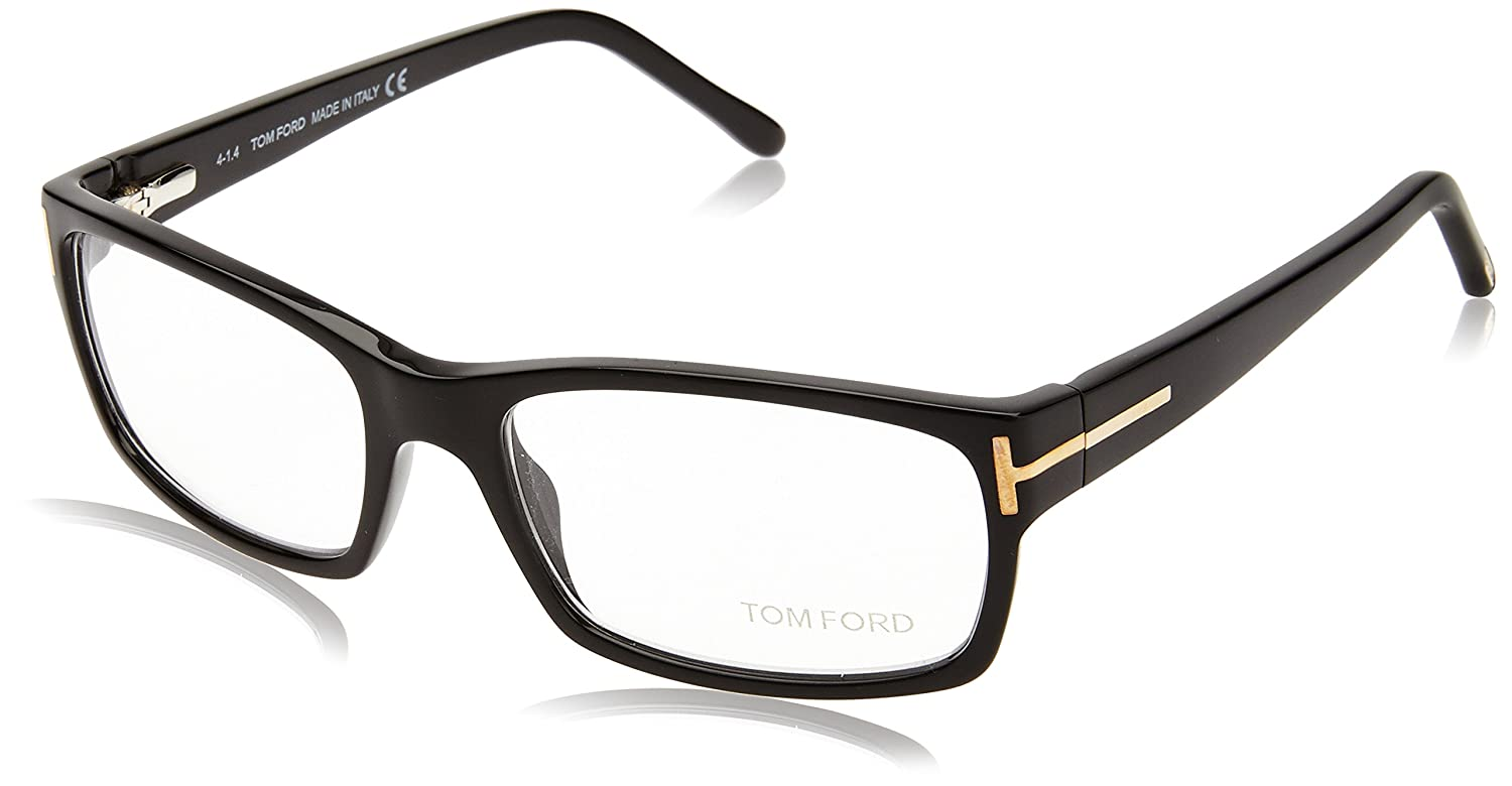 1a59c4228b Amazon.com  Tom Ford FT5013 Black Size 54mm Eyeglasses  Shoes