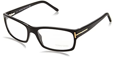 d3c4252bca Image Unavailable. Image not available for. Color  Tom Ford FT5013 Black  Size 54mm Eyeglasses