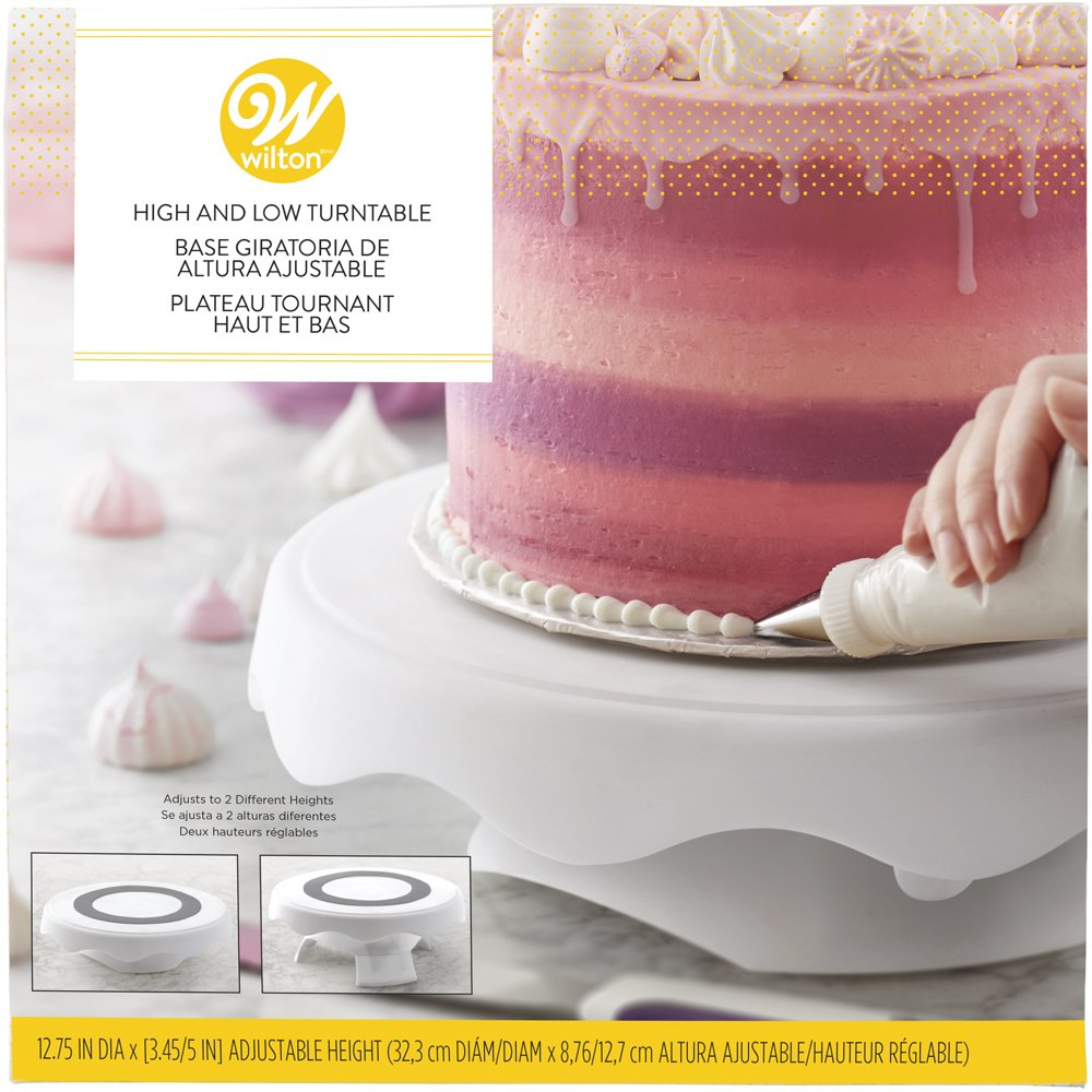 Amazon.com | Wilton High and Low Cake Turntable-Cake Decorating ...
