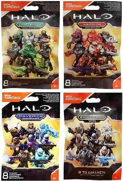 Halo Mega Construx Warrior Series Blind Bag Figure blind pack 8 to collect