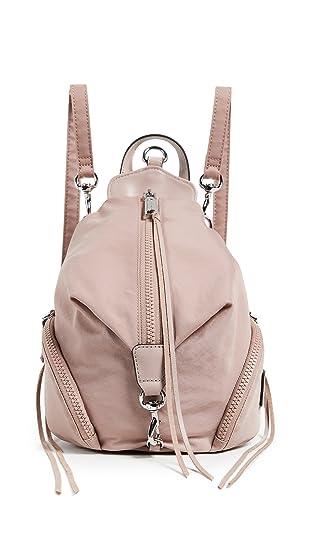 3c5148701 Rebecca Minkoff Women's Nylon Mini Julian Backpack, Vintage Pink, One Size