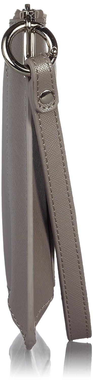 Adolfo Dominguez - Cartera de mano con asa para mujer, color gris: Amazon.es: Zapatos y complementos