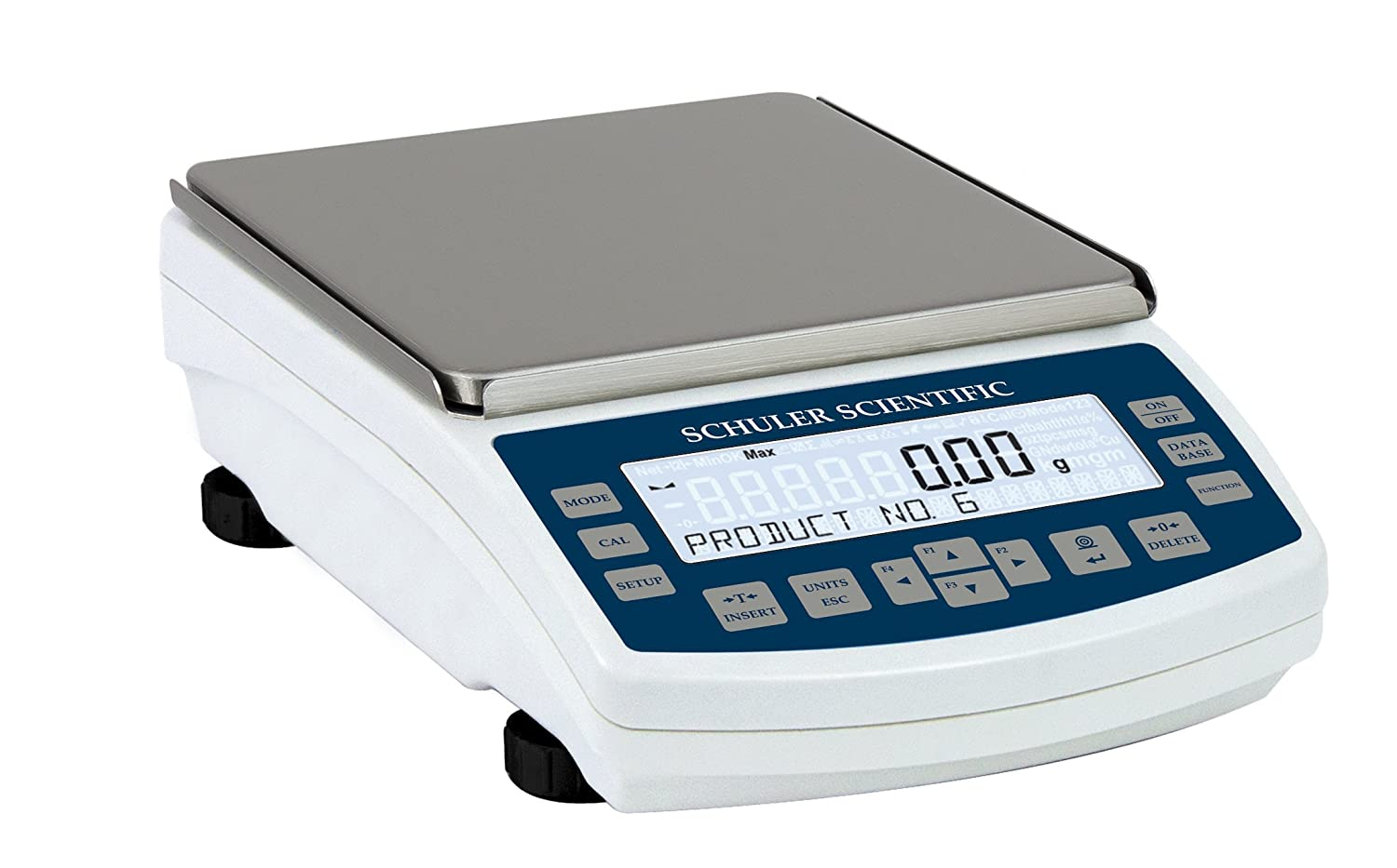 Image of Schuler Scientific SLB-5002 B Series Top Loading Balance with 5000g Capacity and 0.01g Readability Analytical Balances