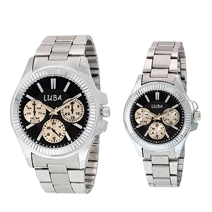 Luba Black 1918 Watch for Couple