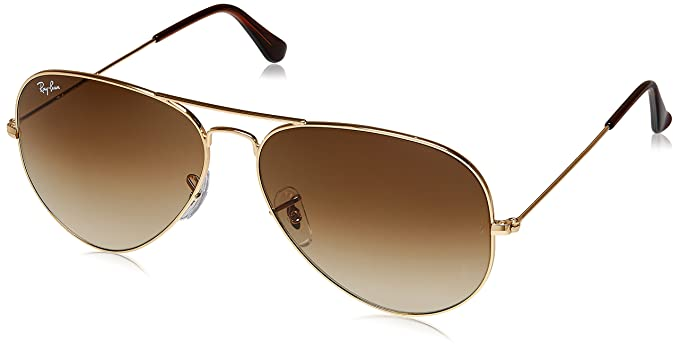 3ff7bc209d0ba Image Unavailable. Image not available for. Colour  Rayban Aviator unisex  Sunglasses (RB3025 001 51 55 14