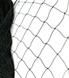 BEST BIRD NETTING 14 x 45 ft Bird Net - Smart Way to Protect Fruit Trees, Bushes & Vegetables from Hungry Birds, Garden Netting Protects Gardens from Chickens & Poultry