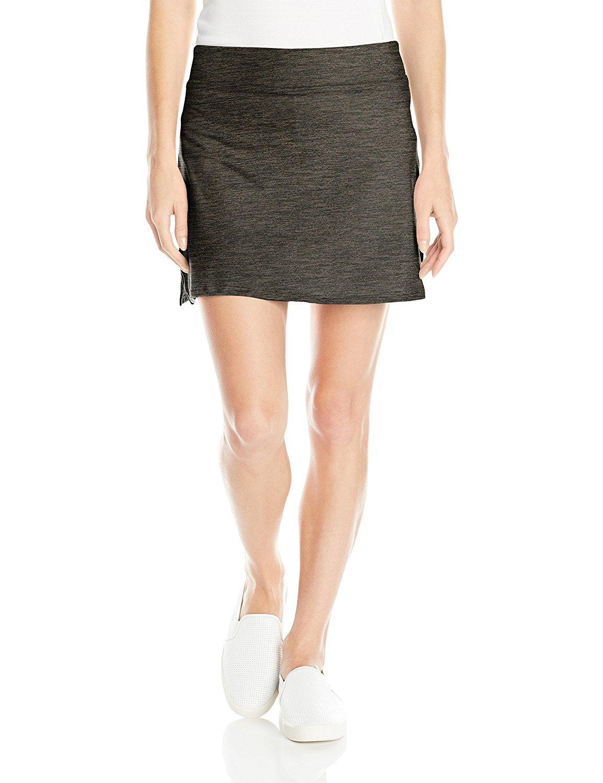 Colorado Clothing Women's Everyday Skort, Storm Heather, X-Small