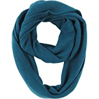 Phaiy Cashmere Lightweight Plain Infinity Scarf Winter Warm Soft Loop Scarf for Women Men