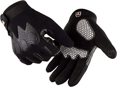 Blisfille Guantes Bicicleta Guantes Invierno Moto Mujer Guantes ...