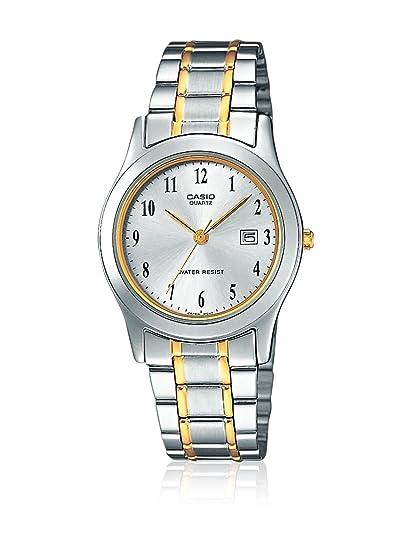 4b5b309adbf3 Reloj Casio Collection para Hombre MTP-1264PG-7B  Amazon.es  Relojes