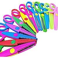 M-jump Scrapbooking Edger Scissors Scrapbooking Supplies Paper Decorative Edge Scissors,Wave edge Scissors for Scrapbook…
