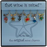 Wine Things WT-1405P By The Bay Wine Charms, Painted