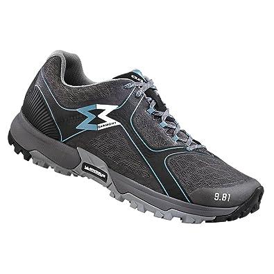 Garmont 9.81 Fast Shoes Women Light Grey/Aqua Blue Schuhgröße UK 4 GsMQon