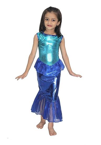ee6720bf669 Buy KAKU FANCY DRESSES Kids Mermaid Gown Fairy Teles