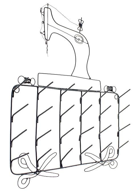 Krasilnikoff - Soporte para bobinas de hilo (metálico, diseño de máquina de coser)