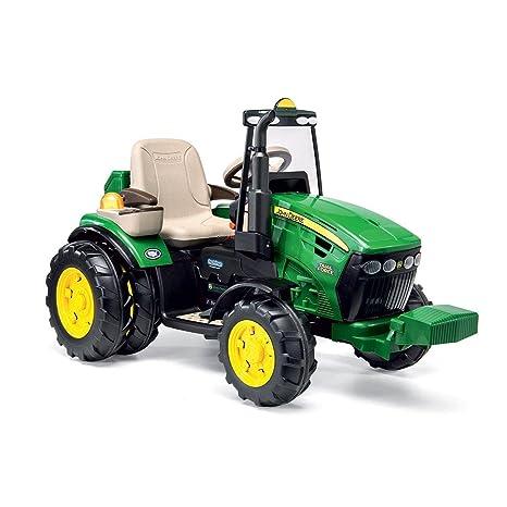 Peg Perego igor0077 John Deere Dual Force Tractor eléctrico Full Optional