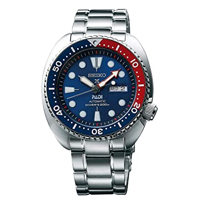 Seiko Men's SRPA21 Prospex X Padi Analog Hand and automatic, Silver: Electronics
