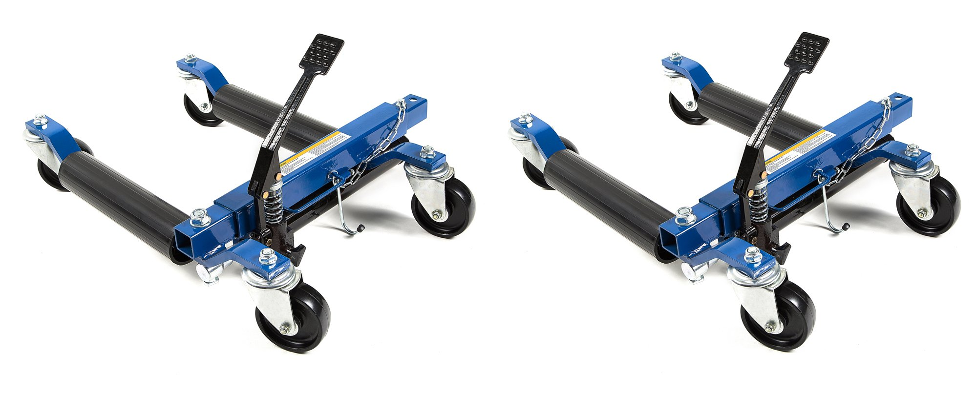 Capri Tools 21085-2PK 21085 Hydraulic Car Positioning 12'' Tire Jack/Dolly (2 Pack)