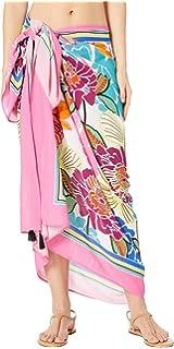 a19d44794c Amazon.com: Trina Turk Women's Kimono Beach Cover Up, Black//Tropic ...