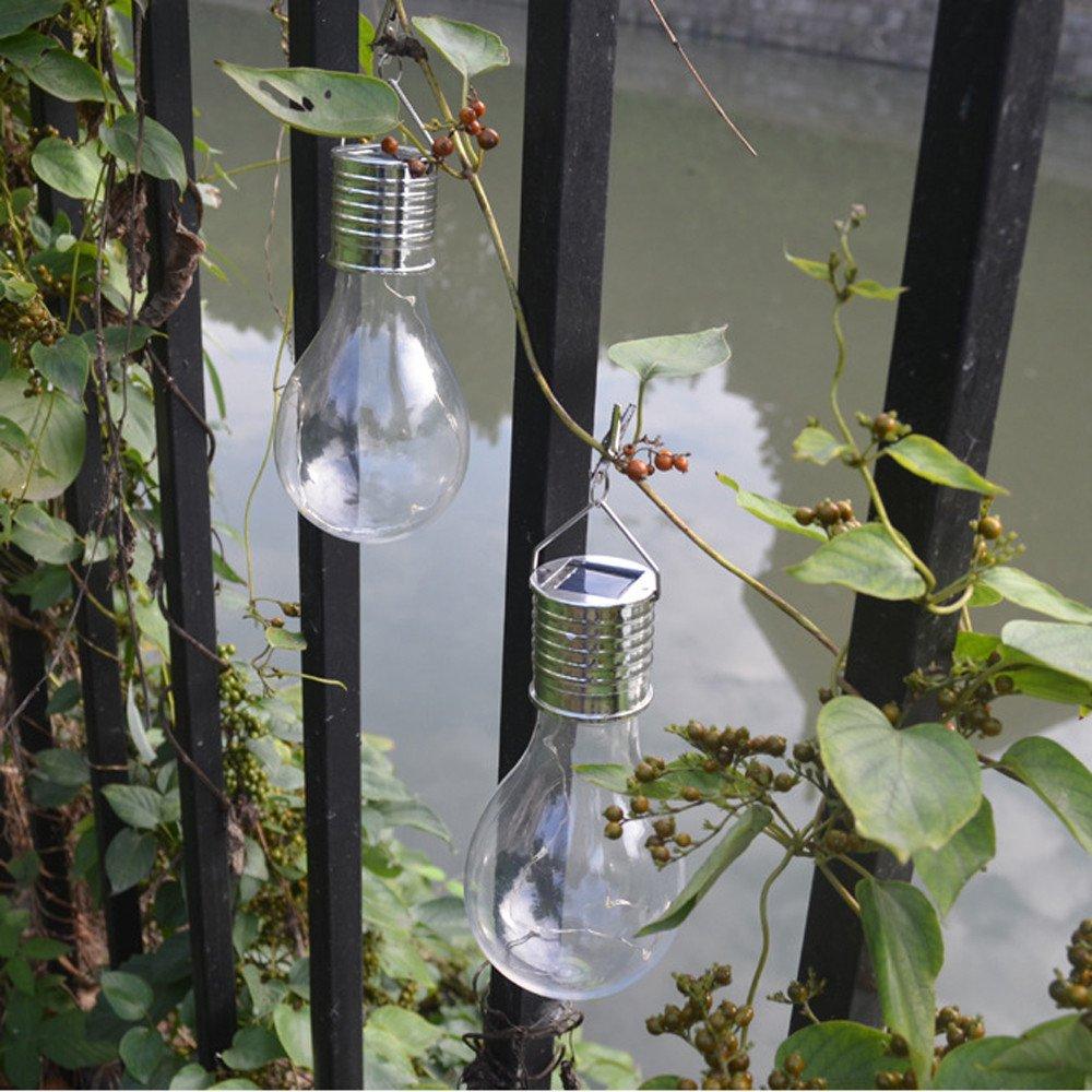 L/ámparas solares led Bombillas Luces Decorative String Luz de patio para Garden Navidad decoracion Interiores y Exteriores Iluminaci/ón Warmpty