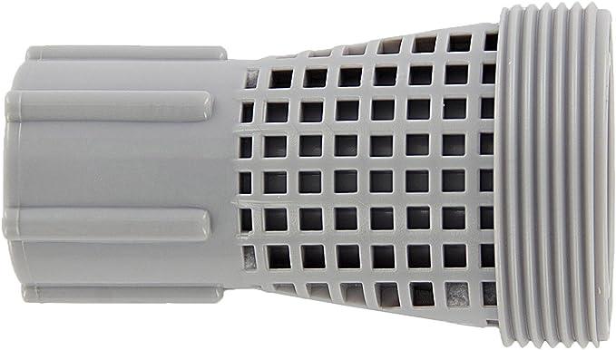 Steinbach Filtro analagen Accesorios, Adaptador para Intex Piscina/Speed Clean, Rosca Exterior de 2Pulgadas x Rosca Interior de 1, Gris, 1x 1x 1cm, 040934