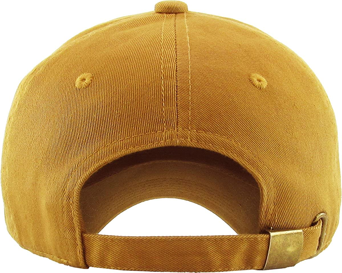 741ddb62342 Fashion Dad Hat Baseball Cap Unconstructed Polo Style Adjustable KBSV-037  BUR