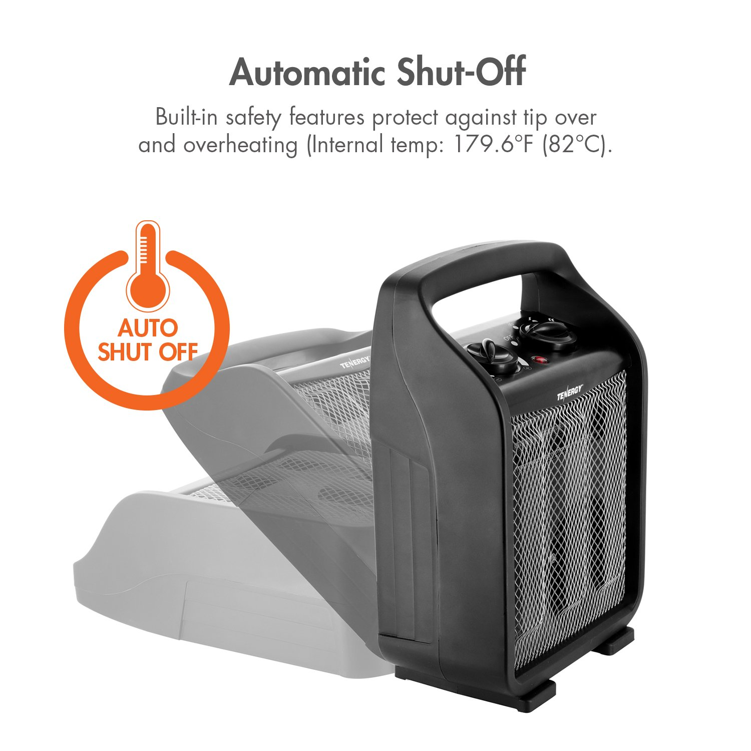 Galleon Tenergy 1500w 750w Portable Space Heaters With