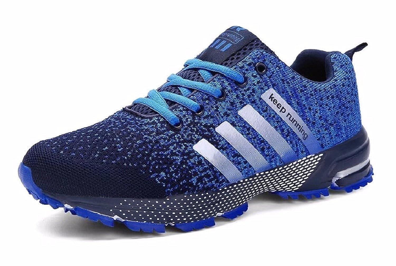 Shoes CN メンズ B07C7GDJ86  ネイビーブルー 5.5 US-Women|5 US-Men|Foot Length 9.06(in)