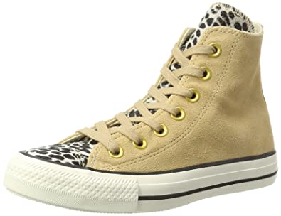 Converse Ctas Hi Light Fawn/Black Montantes Mixte Adulte