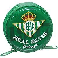 Betis- 0 Monedero Redondo con Cremallera,, 0 (CYP