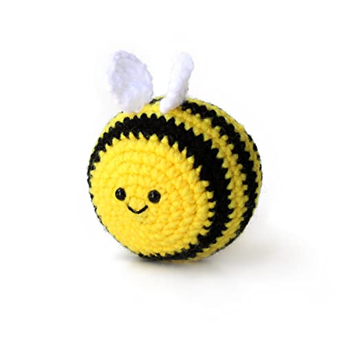 Amazon Amigurumi Crochet Bee Stress Ball By Geekirumi