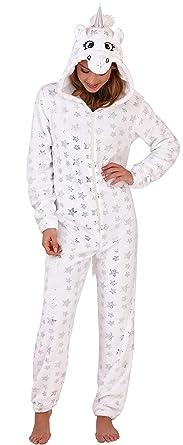Lora Dora Girls Glitter Unicorn Onesies All in One Teens Tweens Dress Up Costume Fleece Xmas Jumpsuit Sleepsuit