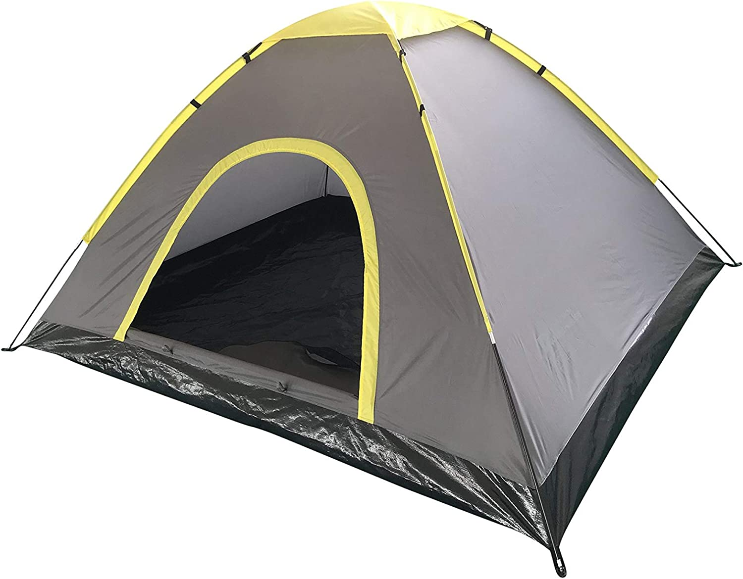 Mountain Warehouse Festival Fun 4 Man Tent Water Resistant Sleeping Tent For Camping, Sun, Beach