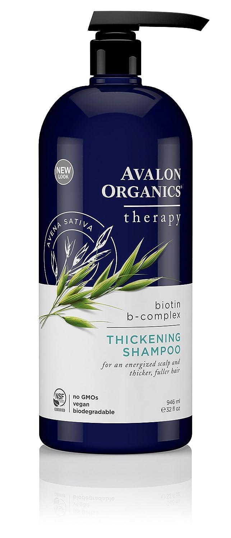 Avalon Organics Biotin B-Complex Shampoo 32-Fluid Ounces 654749361269