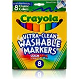 Crayola Ultra-Clean Washable Markers, Broad...