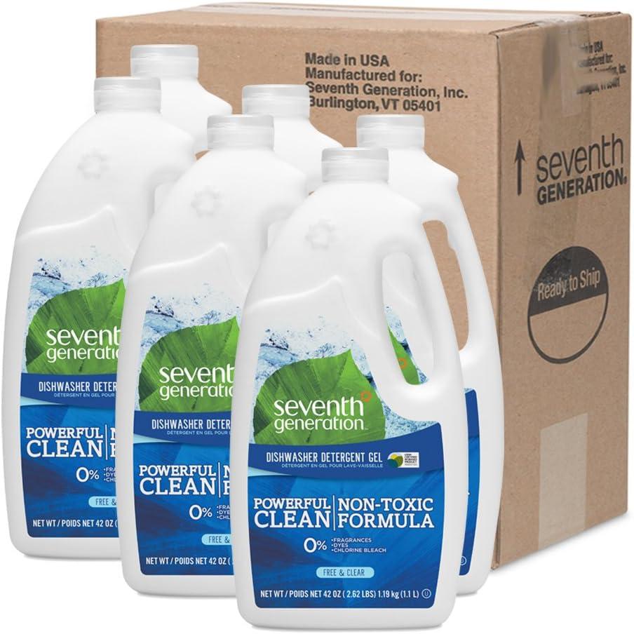 Amazon.com: Gel de lavavajillas de séptima ...