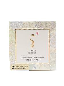 Danahan Bon Yeon Chai Silky Radiance B.B Cushion SPF50 13g + Refill 13g (#21 Bright Beige)