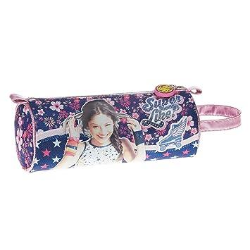 Soy Luna Estuche portatodo cilindrico Color Rosa 22 cm ...
