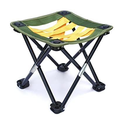 Surprising Mini Portable Camping Gardening Or Fishing Stool Strap Webbing 10 5 Inches Tall Folding Camp Chair For Backpacking Hiking Events Travel Caraccident5 Cool Chair Designs And Ideas Caraccident5Info