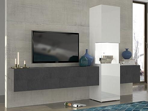 Schrank wohnzimmer modern  Wohnwand | Mediawand | Wohnzimmer-Schrank | Fernseh-Schrank | TV ...