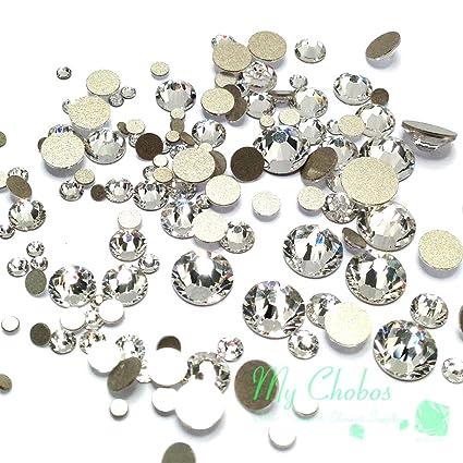 852d8486dd Crystal-Wholesale Swarovski Clear CRYSTAL (001) 2058/2088 Crystal Fatbacks  Rhinestones Nail