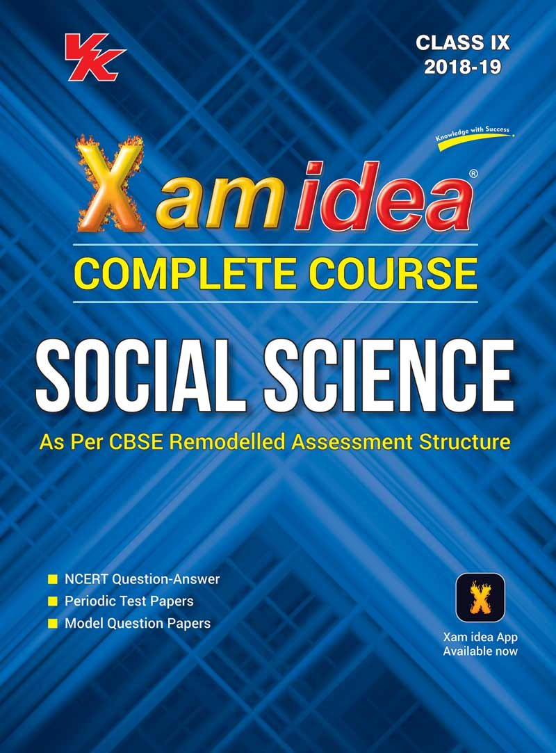 Xam Idea Complete Series Social Science for CBSE Class 9 For 2019 ...