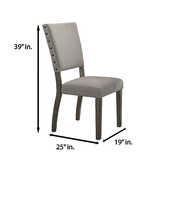 Amazon.com: Best Master Furniture Anna - Silla de comedor ...