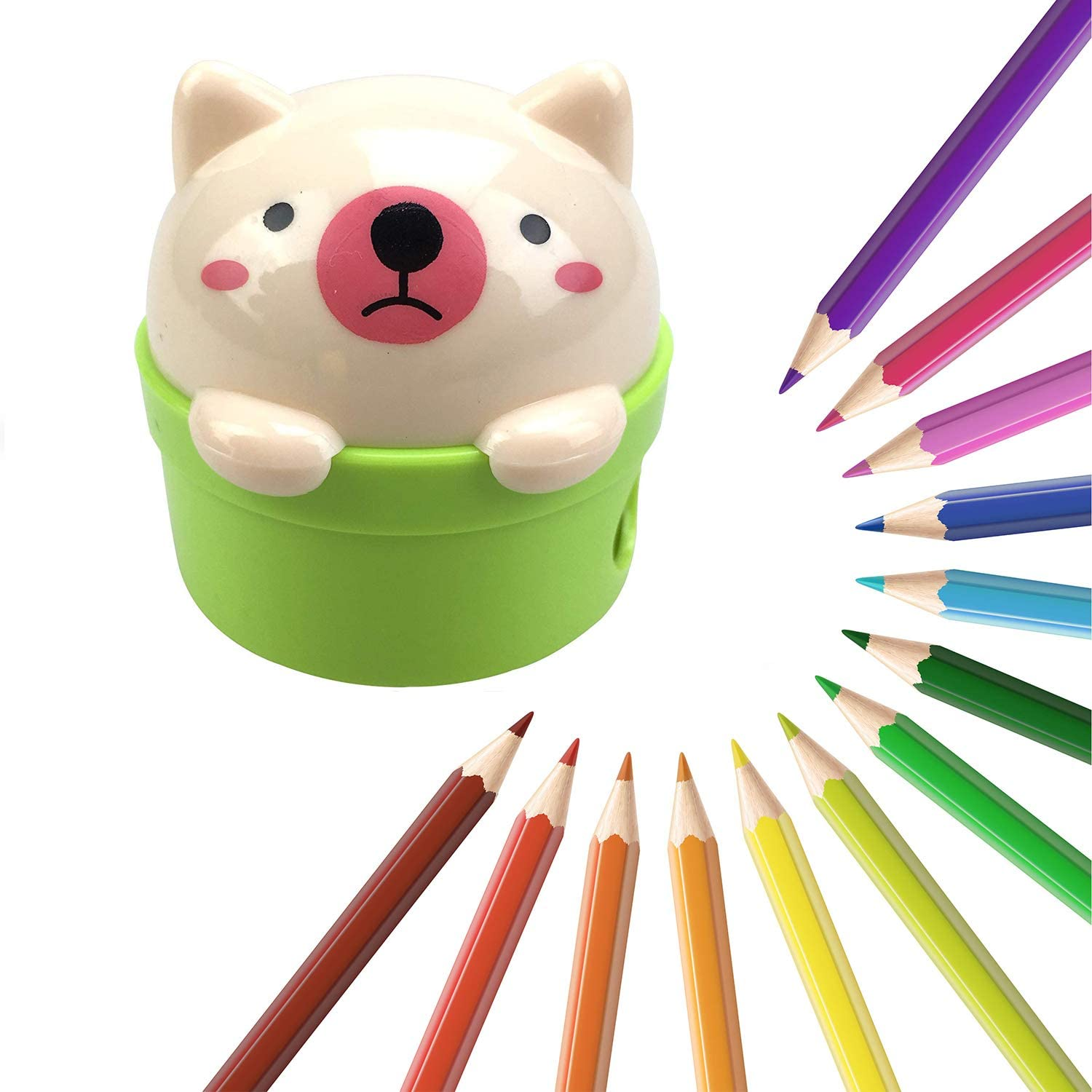 Office Products Pencil Sharpeners SZJHXIN Pencil Sharpener,Pack of ...