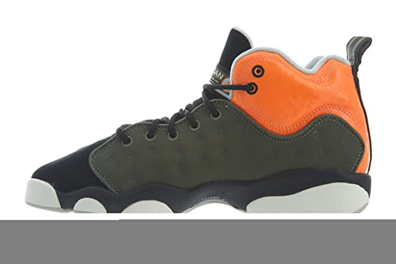 separation shoes 6a8b0 2a1d5 Amazon.com   Nike Jordan Youth Jumpman Team II GS Leather Synthetic  Trainers   Basketball